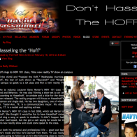 Hasseling the 'Hoff'